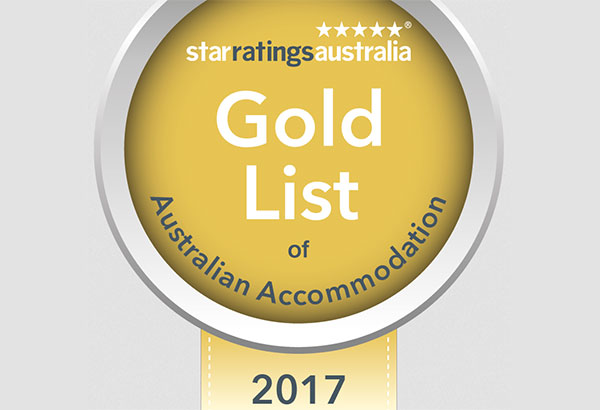 Winner Star Ratings Gold Award – National, State and Regional